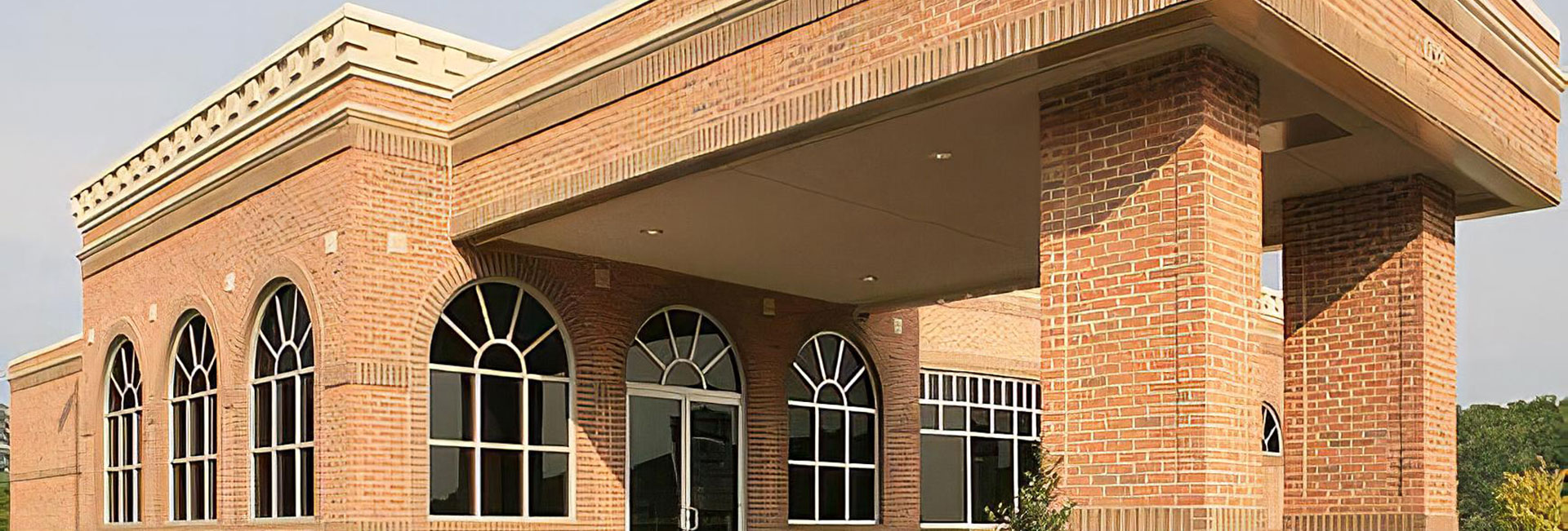 Bank exterior